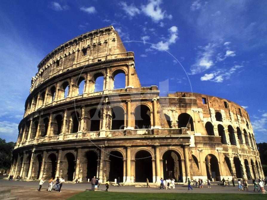 Ruins of the coliseum rome italy photographic print by bill ruins of the coliseum rome italy photographic print by bill bachmann at allposters publicscrutiny Images