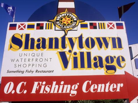 Shantytown Village, Ocean City, Maryland, USA Photographic Print