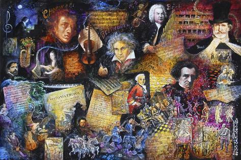 Art of Music Giclee Print