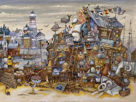 Captain's Treasure Giclee Print