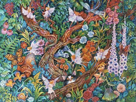 Flower Fairies Giclee Print
