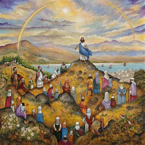Sermon on Mount Giclee Print