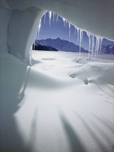 Ice Formations Valokuvavedos