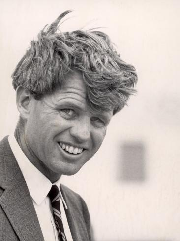 Robert F. Kennedy During Campaign Trip to Support Local Democrats Running for Election Photographic Print