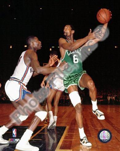 Bill Russell 1967 , Boston Celtics Framed Photographic Print