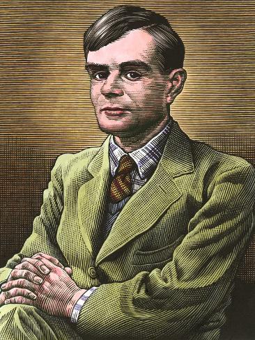 Alan Turing, British Mathematician Photographic Print
