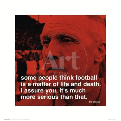 bill shankly citater Bill Shankly: Football Print at AllPosters.com bill shankly citater