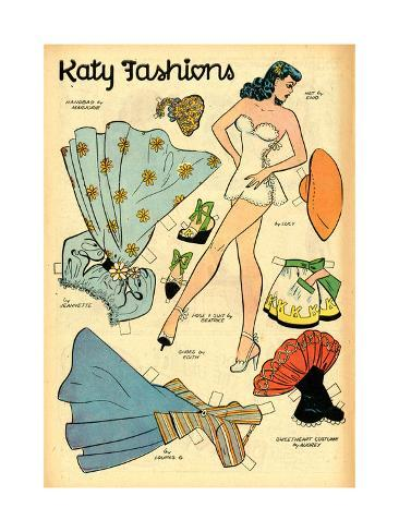 Archie Comics Retro: Katy Keene Fashions (Aged) Poster