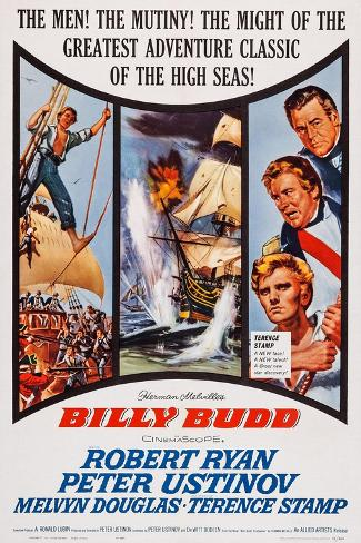Billy Budd, Robert Ryan, Peter Ustinov, Terence Stamp, 1962 Art Print