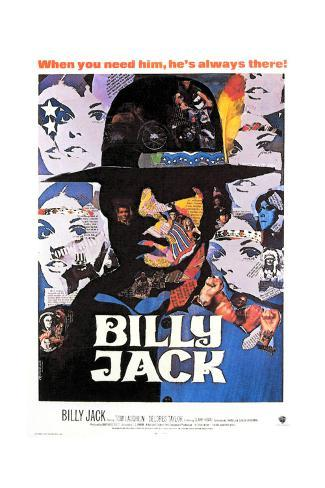 Billy Jack - Movie Poster Reproduction Art Print