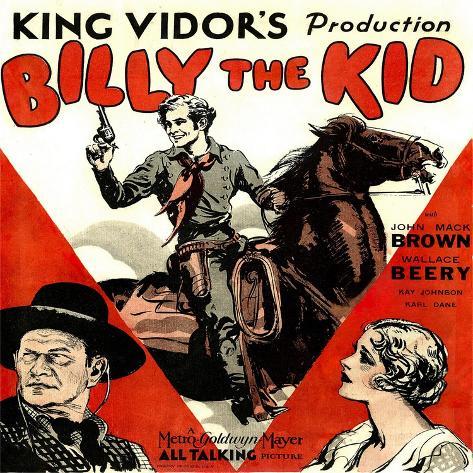 Billy The Kid Konstprint