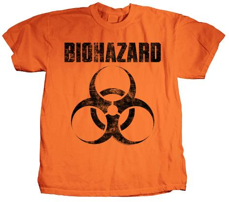 Biohazard - Classic Logo T-Shirt