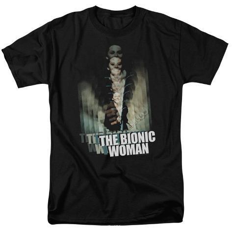 Bionic Woman-Motion Blur T-Shirt