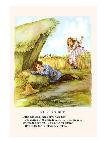 Little Boy Blue Art Print