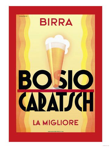 Birra Bosio Caratsch Art Print