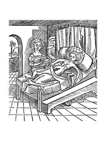 Birth of Antichrist Lámina giclée