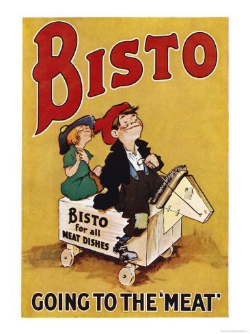 Bisto the Bisto Kids Bisto Gravy, Going to the Meat Giclee Print