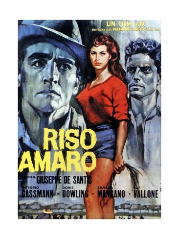 Bitter Rice, (aka Riso Amaro), 1949 Giclee Print