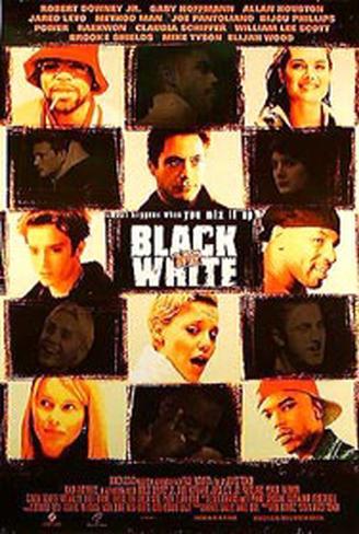 Black And White Original Poster