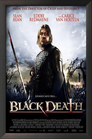 Black Death Impressão artística emoldurada