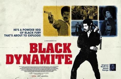 Black Dynamite Masterprint