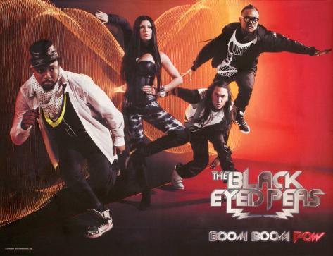 Black Eyed Peas - Boom Boom Pow Fabric Poster