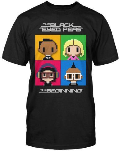 Black Eyed Peas - LP Cover T-Shirt