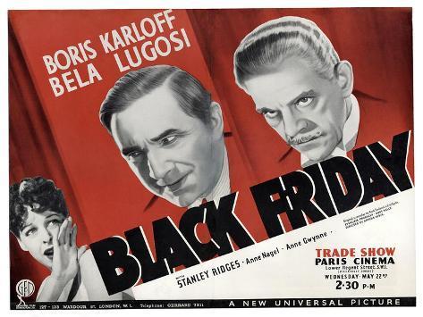 Black Friday, 1949 Art Print
