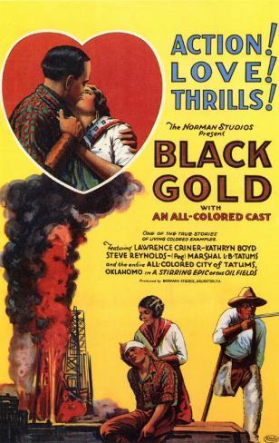 Black Gold Masterprint