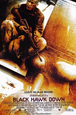 Black Hawk Down Stampa master