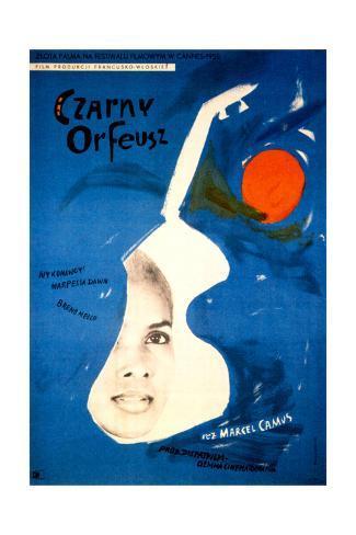 Black Orpheus, (AKA Czarny Orfeusz), Marpessa Dawn, 1959 Impressão giclée
