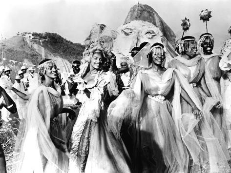 Black Orpheus, Brazilian Carnival Band, 1959 Photo