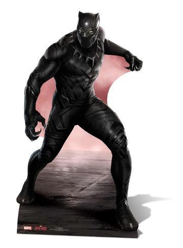 Black Panther - Marvel Civil War Figura de cartón