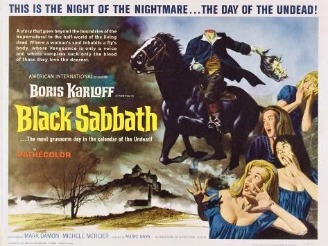 Black Sabbath, 1964 Art Print