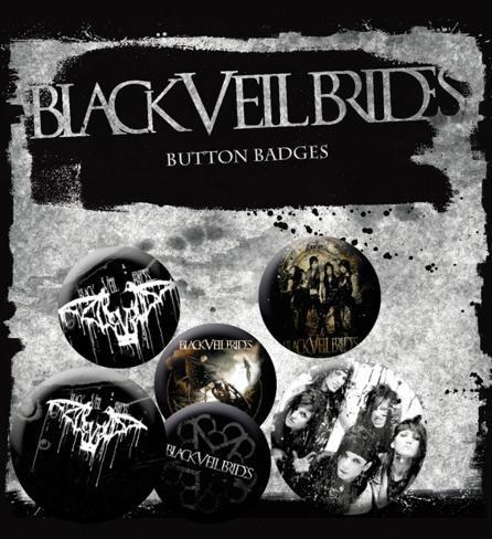 Black Veil Brides Badge Pack Badge