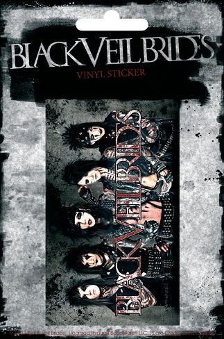 Black Veil Brides Vinyl Sticker Pegatina