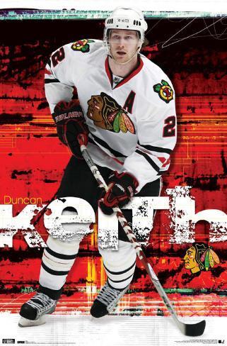 Blackhawks - D Keith 2010 Poster