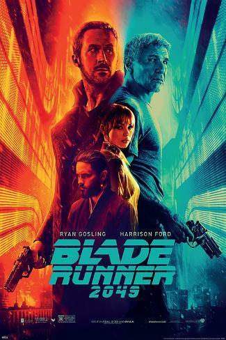 Blade Runner 2049 (Fire & Ice) Poster