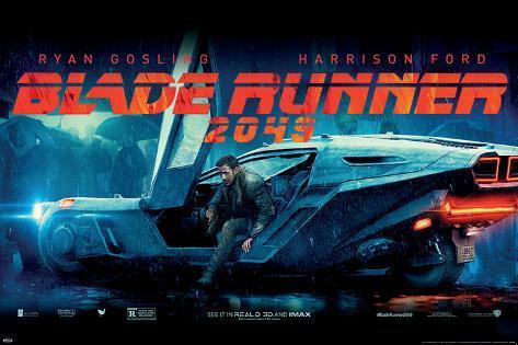 Blade Runner 2049 (Flying Car) Poster