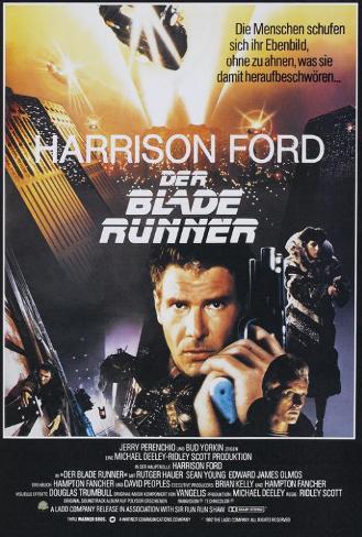 Blade Runner - German Style Poster