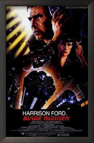 Blade Runner, O Caçador de Androides Impressão artística emoldurada