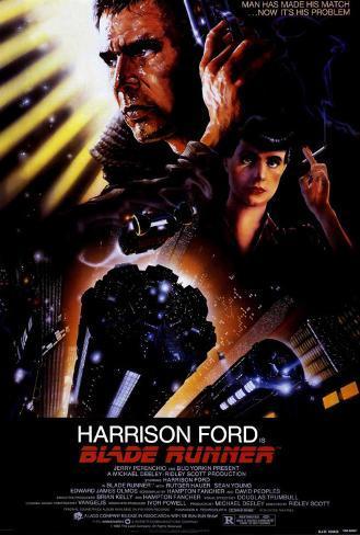 Blade Runner, O Caçador de Androides Impressão em tela esticada
