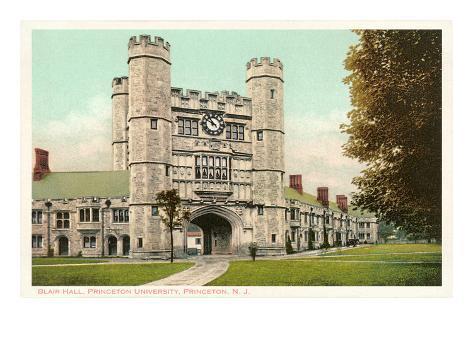 Blair Hall, Princeton University, New Jersey Art Print