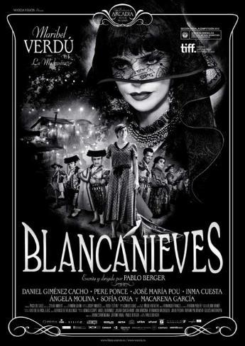 Blancanieves Movie Poster Lámina maestra