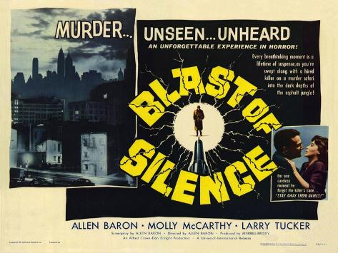 Blast of Silence, 1961 Stampa artistica