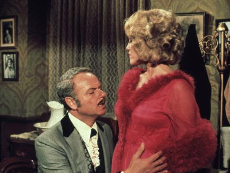 Blazing Saddles, Harvey Korman, Madeline Kahn, 1974 Fotografia