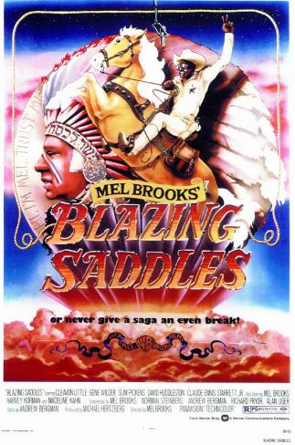 Blazing Saddles Masterprint