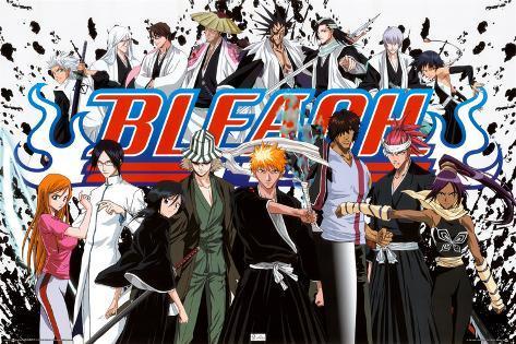 Bleach Cast Poster