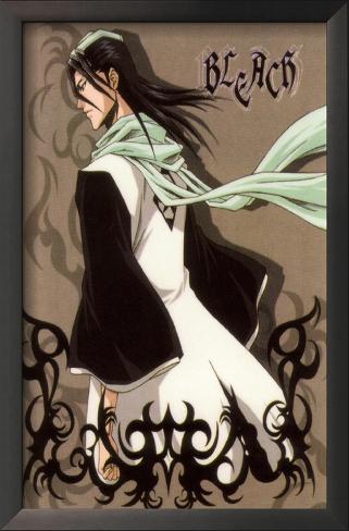 Bleach - Japanese Style Rukia Kuchiki Impressão artística emoldurada
