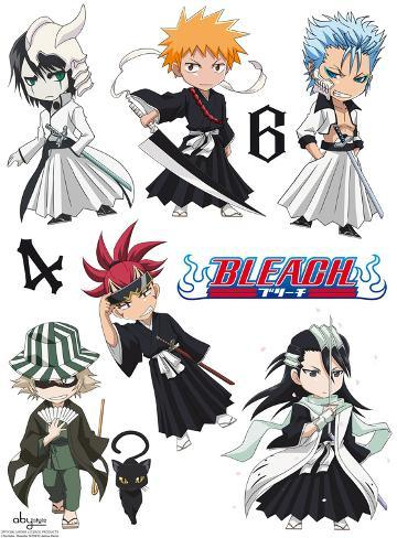 Bleach - SD Characters Wall Decal